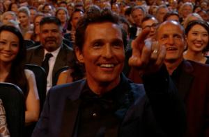 Matthew McConaughey at 2014 Emmy Awards