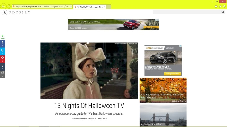 an episode a day guide to tvs best halloween specials